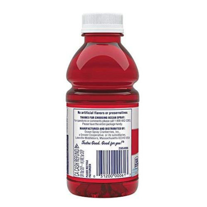 Ocean Spray Cranberry Juice Cocktail, 10 Ounce (Pack Of 6)