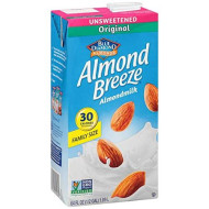 Blue Diamond Growers Almond Breeze Original Non Dairy Beverage, 64 Ounce -- 8 Per Case.