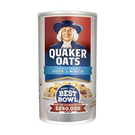 Quaker Oats Quick Oatmeal, 42-Ounce Packages (Pack of 4)