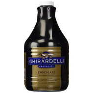Ghirardelli Black Label Chocolate Sauce 87.3Oz - Single Bottle
