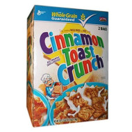 Cinnamon Toast Crunch Cereal 2 Bags, 3 lb 1.5 oz. box