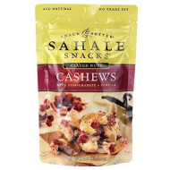 Sahale Snacks, Cashews With Pomegranate Vanilla, 4 Ounce