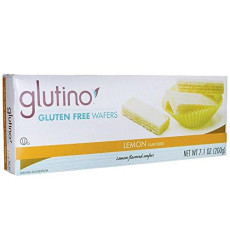 Gluten Free Wafer Cookies - Lemon 7.1 Ounce Pkg