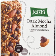 Kashi Dark Mocha Almond Chewy Granola Bars Includes 6, 1.2 Oz. Individually Wrapped Bars (2 Pack)