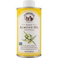La Tourangelle Roasted Almond Oil 16.9 Fl. Oz, All-Natural, Artisanal, Great for Salads, Grilled Fish and Meat, or Pasta