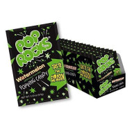Pop Rocks Watermelon Popping Candy .33 Oz (Case Of 24)