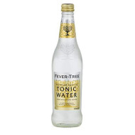 Fever-Tree Premium Indian Tonic Water, 16.9 Ounce Glass Bottles (Pack Of 8)