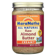 Maranatha Raw Almond Butter No Salt (6X16 Oz)