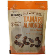 Woodstock Natural Tamari Almonds, 7.5 Ounce