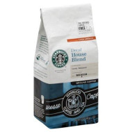 Starbucks Ground Coffee House Blend Decaf - 6 Pack