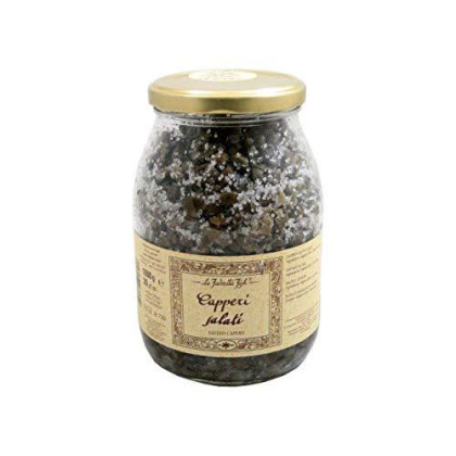 Salted Capers (35.27 Ounce) by La Favorita