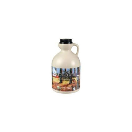 Coombs Family Farms Organic Maple Syrup - Jug, 32 Ounce - 6 Per Case.