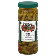 Dell Alpe Mild Giardiniera Mix, 32 Ounce (Pack Of 6)