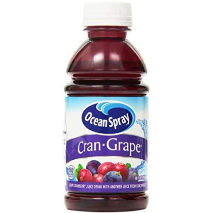Ocean Spray Cran-Grape Juice Drink, 10 Ounce,6 Count