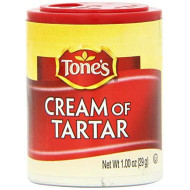 Tone's Mini's Cream of Tartar, 1.00 Ounce (Pack of 6)