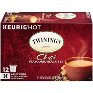 Twinings Of London Chai Tea K-Cups For Keurig, 12 Count