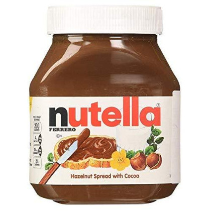 Nutella Ferrero, 2 Jars- 26.5 Ounce, Hazelnut Spread By Nutella