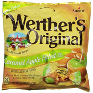 Werther'S Original Caramel Apple Filled Hard Candy, Bulk Candy, Individually Wrapped Candy, Caramel Candy, Caramel Sweets, 5.5 Ounce Bags (Pack Of 6)