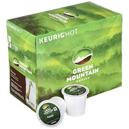 Green Mountain Coffee, Kenya Extra Bold Coffee Keurig K-Cup Pods (24 count)