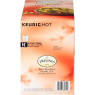 Twinings Of London Rooibos Tea K-Cups For Keurig, 24 Count