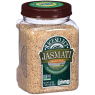 Rice Select Jasmati Brown Rice, 30 Ounce - 4 Per Case.