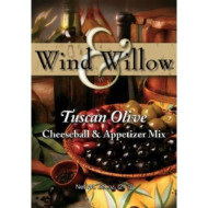 Wind And Willow Tuscan Olive Cheeseball Mix - .89 Ounce (4 Pack)