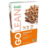 Kashi Golean, Breakfast Cereal, Cinnamon Crisp, Non-Gmo Project Verified, 14 Oz