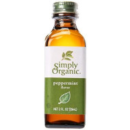 Simply Organic Peppermint Flavor - Organic - 2 Ounce , United States, 6 Count