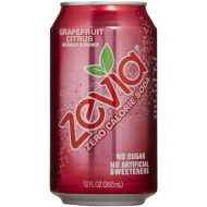 Zevia, Soda, Grpfrt Citrus Cola, 4/6/12 Oz