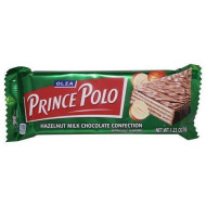 Kraft Olza Prince Polo Hazelnut (36G / 1.2 Oz) Pack Of 10