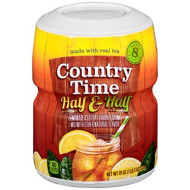 Country Time Half Lemonade & Half Iced Tea Drink Mix (19 oz Canister)
