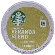 Starbucks Veranda Blend Blonde Roast Single Cup Coffee for Keurig brevers, 10 Count