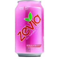 Zevia All Natural Soda, Strawberry 12-Ounce Cans (Pack of 24)