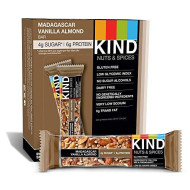 Kind Bar, Madagascar Vanilla Almond, Gluten Free, Low Sugar, 1.4Oz ,  12 Count