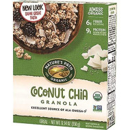 Nature'S Path Organic Granola Cereal, Chia Plus Coconut Chia, 12.34 Ounce Box