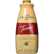 Torani White Chocolate Sauce, 64 Ounce