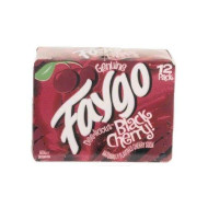 Faygo black cherry flavor soda, 12-pack 12-fl. oz. cans