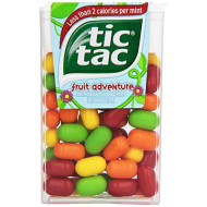 Tic Tac Mints, Fruit Adventure, 1 Oz. (12 Count)