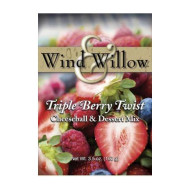 Wind And Willow Wind &Amp; Willow Triple Berry Twist Dessert Cheeseball Mix - 3.2 Ounce (4 Pack)
