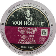 Van Houtte CHOCOLATE RASPBERRY TRUFFLE - 96 K-Cups for Keurig brevers