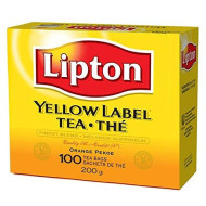 Lipton Yellow Label Tea Bags 100Ct (Pack Of 4)