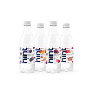 Hint Sparkling Water 4-Flavor Variety Pack (Pack Of 12) 16.9 Oz Bottles, Unsweetened Sparkling Water, Zero Sugar, Zero Calorie, Zero Artificial Sweeteners
