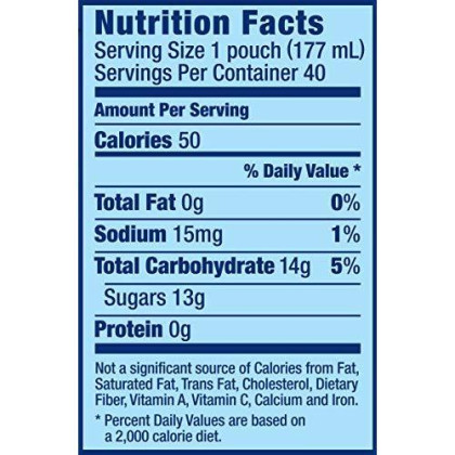 Capri Sun Fruit Flavored Juice Drink Blend Variety Pack, 40 Ct - 6 Fl Oz Pouches