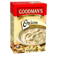 Goodman's Onion Soup & Dip Mix, 2.75-ounce (Pack of 6)