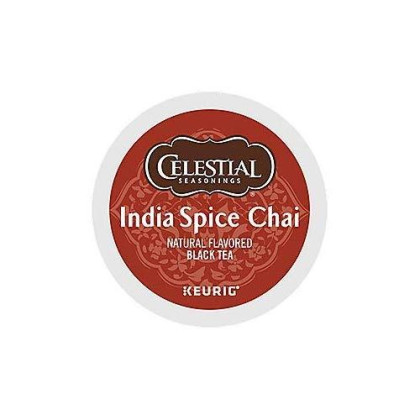 Celestial Seasonings Chai Tea K-Cups, India Spice, 96-Count
