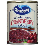 Ocean Spray Whole Berry Cranberry Sauce 14 Oz (Pack of 6)