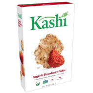 Kashi, Breakfast Cereal, Organic Strawberry Fields, Vegan, Non-Gmo Project Verified, 10.3 Oz
