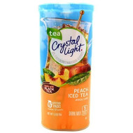 Crystal Light Peach Iced Tea Canisters (Value Pack Of 12)