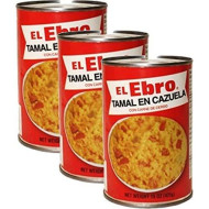 El Ebro- Tamale Casserole W/Pork 15Oz (3-Pack)