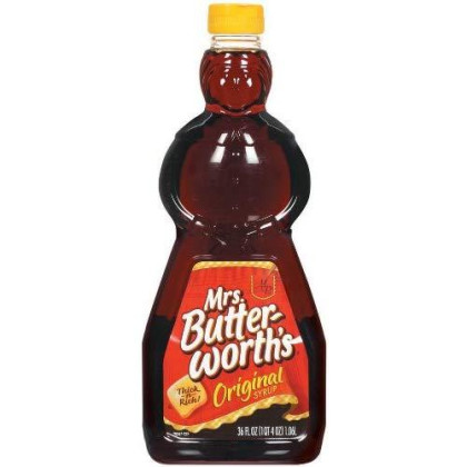Mrs. Butterworth'S Syrup, Original, 36-Ounce (Pack Of 9)